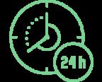 5 Gün 24 Saat Kesintisiz İşlem